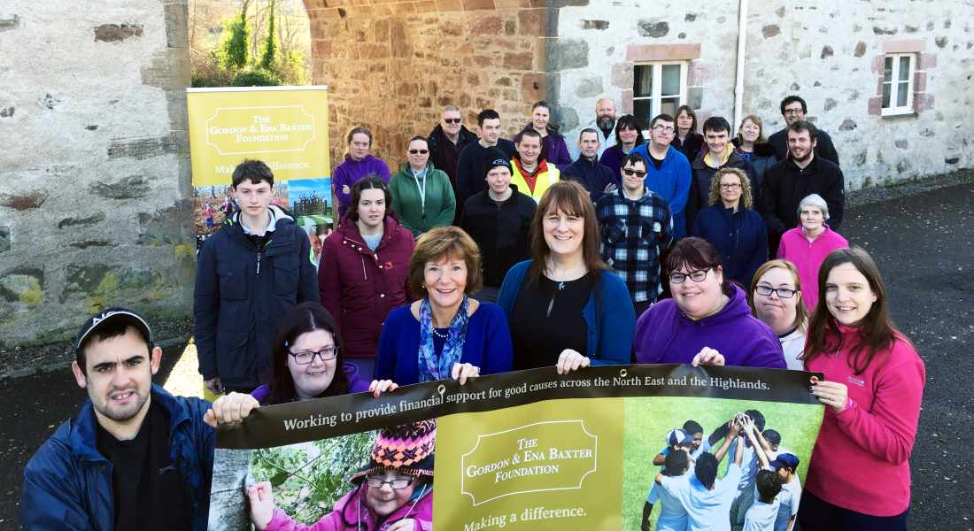Groups from throughout the Highlands celebrated funding from the Gordon and Ena Baxter Foundation.