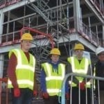 Work experience for Elgin High pupils is just outside the school