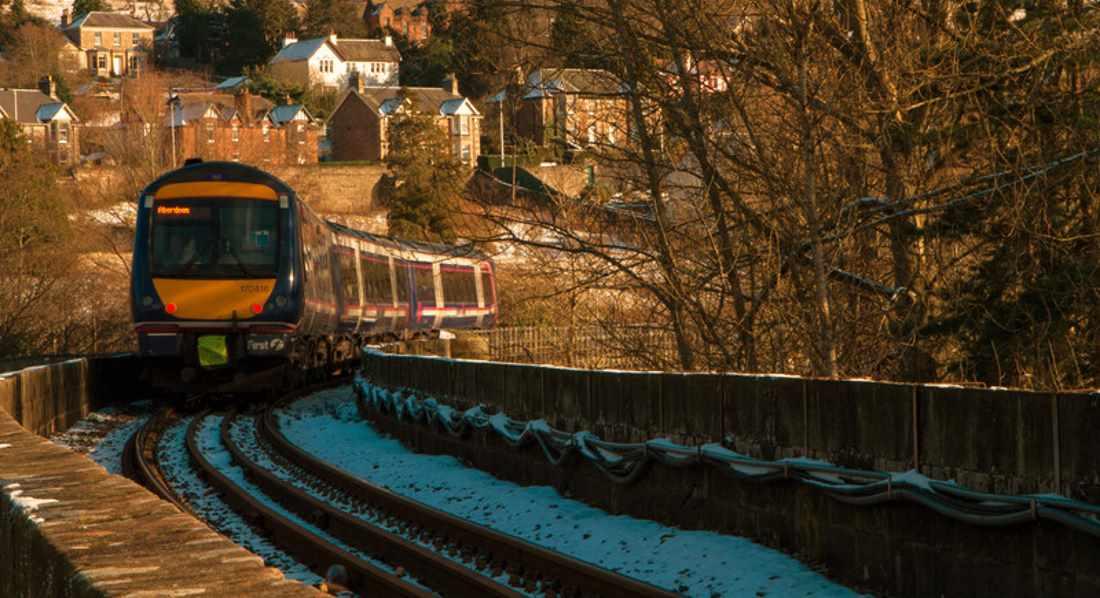 train from aberdeen to kyle of lochalsh