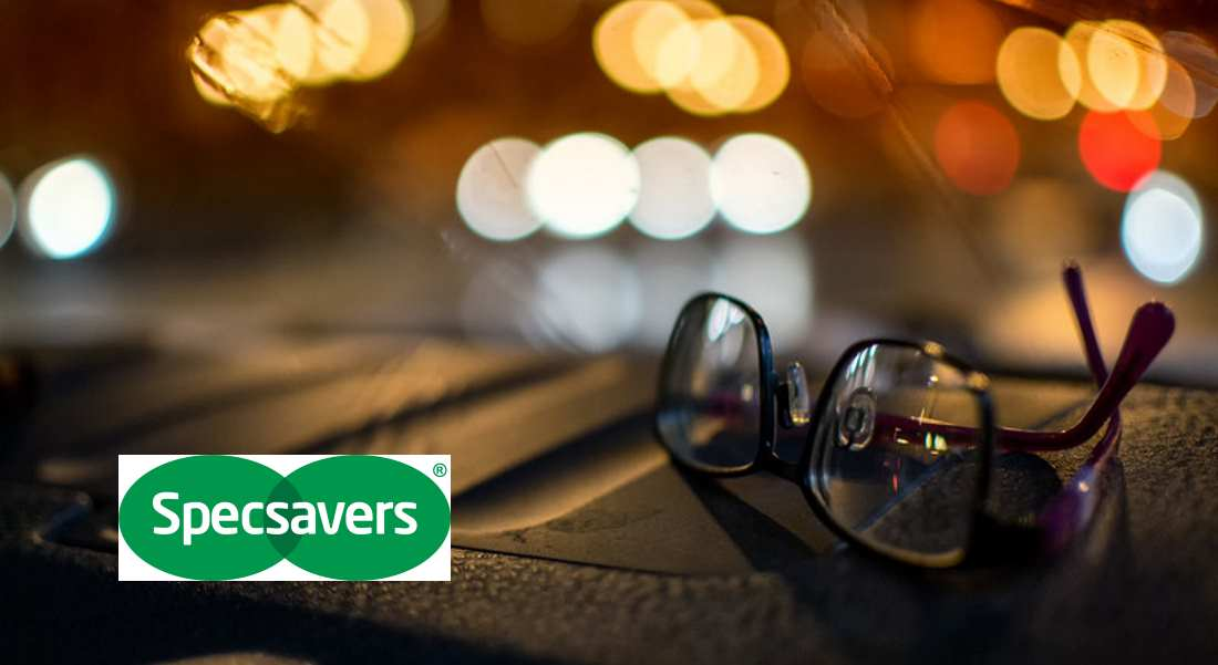 Specsavers urge motorists to have an eye check.