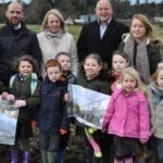 Parents and children have first glimpse of their future school