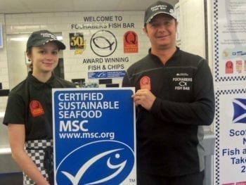 Permalink to: Moray fish bar one of first to serve up certified sustainable cod