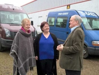 Permalink to: Praise for Buckie bus service that continues to fill a gap