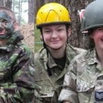 Highland Wing Cadets get a taste of 'team building' in Moray