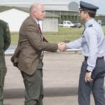 Lossiemouth VIP visit that could help pave the way for Typhoon in Finland