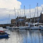 FLAG's are out at Moray harbour as investment is clinched