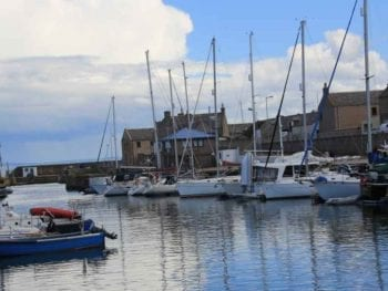 Permalink to: FLAG's are out at Moray harbour as investment is clinched
