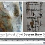 Moray Art students display their degree work to the public