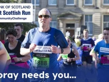 Permalink to: Search is on for Moray's ambassador in Great Scottish Run