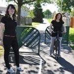 New shared Elgin pathway link to High School is opened