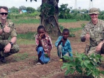 Permalink to: Nigerian mission of hearts and minds for Moray airmen