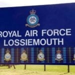 RAF Lossiemouth to test crash response