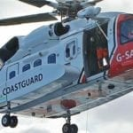 Helicopter rescue for Councillor's son in accident