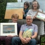 Four inspirational artists to show at fourth 'Inspired Art' exhibition