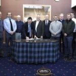 Moray air base hosts Scottish Parliamentarians on fact-finding mission
