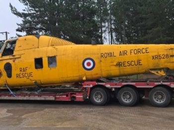 Permalink to: Kinloss attraction celebrates another classic SAR addition