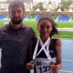 Elgin Academy athlete Tamsin sprints to double Scottish Championships
