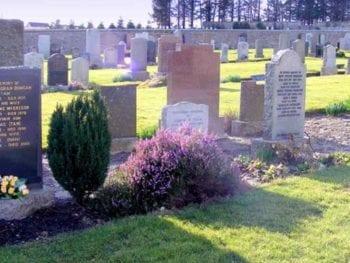 Permalink to: Widow left devastated after vandals destroy her husband's gravestone