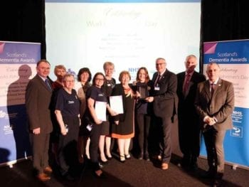 Permalink to: Forres Tesco store and its champion take honour at Dementia Awards