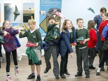 Permalink to: Over 900 Moray school kids get a taste of Science at RAF Lossiemouth