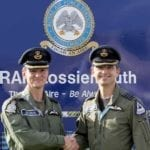 All change as new boss sweeps into RAF Lossiemouth