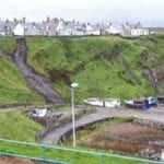 Emergency road repairs seek to alleviate danger for Portknockie homes