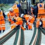 Ten days of pain for commuters begins as Network Rail close the line