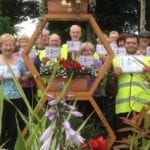 Praise as Forres in Bloom takes the golden path once again