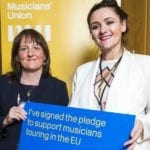 MSP makes a song and dance over Musicians rights post-Brexit