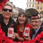 Poppy alert is on for Moray's remaining round pound coins