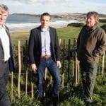 MP inspects flood damage to Moray coastal village