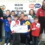Little Forres football stars clock up a knockout fundraising effort