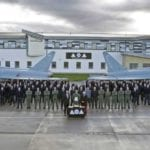 Lossiemouth Typhoon squadron take prestigious trophy