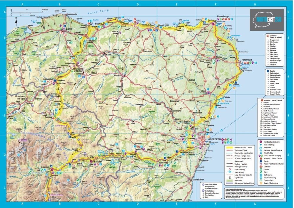 Tourism boost expected with launch of the North East 250 insideMoray