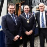 Stagecoach unveil £2.75m fleet of ten new coaches for A96 route