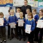 MP thrilled as Moray schools produce stunning Christmas designs