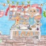 Applegrove Primary pupil creates MSP's winning Christmas design