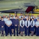 RAF Lossiemouth help score a success through re-employed personnel