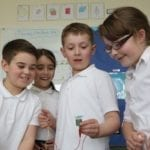 Moray primary pupils in teach to learn programme