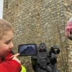 Primary school children master modern media