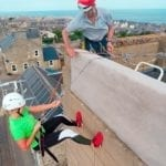 Charity abseil brings in the money